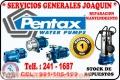 Servicio técnico // PENTAX // reparación de electrobombas  La Molina