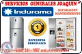 Servicio técnico ** INDURAMA ** lavadoras, lavasecas,  refrigeradores 241-1687