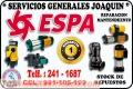 Servicio técnico  = ESPA = reparación de electrobombas La Molina