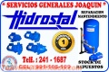 Servicio técnico *   HIDROSTAL *reparación de electrobombas La Molina