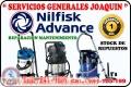 Servicio tecnico reparacion de  aspiradoras  industriales NILFISK ADVANCE 2411687