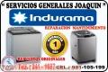 Reparación de lavadoras ♦ INDURAMA ♦  secadoras,refrigeradoras  241-1687