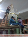 Limpieza de arañas de cristal Arnolds en Miraflores - Surco – La Molina