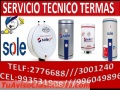 3001240 SOLE SERVICIO TECNICO DE TERMAS SOLE LIMA @