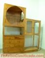 Vendo estante de madera rustico