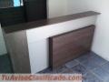 Mueble alto tipo Counter, es nuevo color cafe maderoso para Oficina, restaurante o cafe