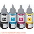 Tinta Epson Original Color Negro,magenta Cyan Y Amarillo