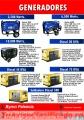 Generador, generadores, generador de electricidad, Diésel y Gasolina.
