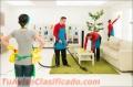Personal de limpieza de casa vacias