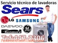 XPERTOS SEARS==SERVICIO TECNICO LAVADORAS WHIRLPOOL