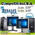 COMPUTADORAS DELL MODELO 755, 380 Y 780 SUPER BARATAS HOY TODAS CON MEDIO AÑO DE GARANTÍA