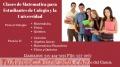 Dictamos Clases Particulares a Estudiantes de Colegio y La Universidad