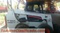 Minicargador bobcat s630 año 2012