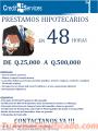 CASAS Y TERRENOS CONSOLIDACIÓN DE DEUDAS CON CRÉDITO HIPOTECARIO