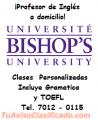 CLASES  PERSONALIZADAS Y PRIVADAS DE INGLES A DOMICILIO, IMPARTIDAS POR PROF. CERTIFICADO.
