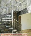 Barandas, escaleras, pasamanos todo en acero inoxidable ofertas del mes