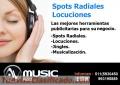 SPOTS RADIALES SPOTS PARA RADIO PUBLICIDAD RADIAL LOCUCIONES JINGLES-AVMUSIC PERU