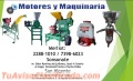 MOLINOS DE NIXTAMAL 2 TOLVAS CON MOTOR DIESEL 10HP. ARRANQUE ELECTRICO Y MANUAL.