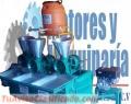 MOLINOS DE NIXTAMAL DE 3 TOLVAS CON MOTOR ELECTRICO Y GASOLINA