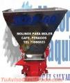 DESPULPADORAS DE CAFE PENAGOS. Y MOLINOS DE DISCOS PARA MOLER CAFE MARCA PENAGOS