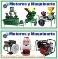 VENTA DE MAQUINARIA AGRICOLA:  MOTORES Y MAQUINARIA