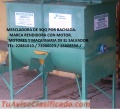 MESCLADORAS DE CONCENTRADOS Y MOLINOS DE MARTILLO CON CICLON COLECTOR.