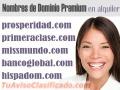 Alquiler y venta de Nombres de Dominio Premium