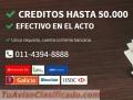 Creditos con cheques, Creditos con cheques Personales-Terceros - Credilineas