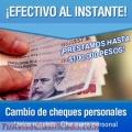 Cambio de Cheques -Cheques de Terceros