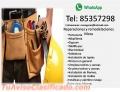 REMODELACIONES Y REPARACIONES MORA 85357298