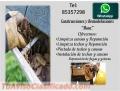 LIMPIEZA Y REPARACION DE TECHOS Y CANOAS