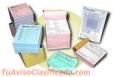 Sellos, Facturas, Volantes, Tarjetas, Articulos de Oficina, Papeleria en General.