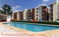 Apartamentos económicos con piscina.