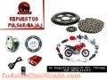 Accesorios para motos en Chiclayo