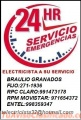 Electricista Miraflores Domicilio Amperio 991473178 - 971654372