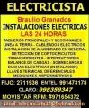 Electricista Miraflores Domicilio Experto 991473178 - 971654372