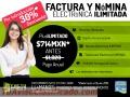 Factura y Nómina Electrónica Ilimitada GRAN OFERTA POR INTRODUCCIÓN