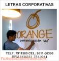Letras corporativas para las empresas