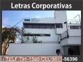 Letreros corporativas para empresas y comercio