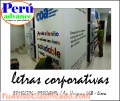 Letra corporativas / publiicdadd