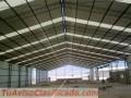 Construcción de galpones,tinglados,techos,estructuras metálicas en general