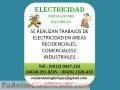 Servicio de electricidad a domicilio garantizado