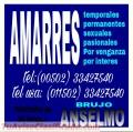 Amarres de amor, brujo anselmo  00502-33427540