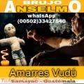 AMARRES CON MAGIA VUDU, BRUJO ANSELMO(00502)33427540