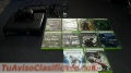 Xbox 360 con 10 juegos