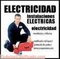 Técnico medio en electricidad se ofrece para trabajos de electricidad