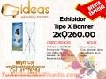Exhibidor Tipo X Banner
