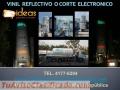 Rotulacion Corte Electrónico con Vinil Reflectivo